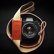 Аксессуары handmade. Livemaster - original item Strap for the camera // Photo Strap.. Handmade.