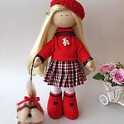Куклы и игрушки ручной работы. Ярмарка Мастеров - ручная работа Кукла текстильная Сашенька. Handmade.