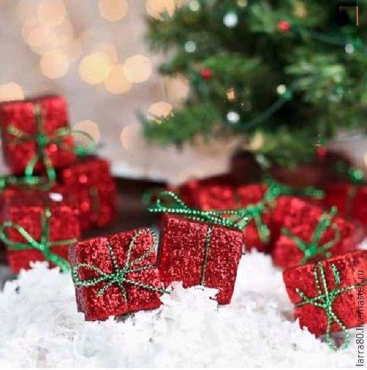 Куклы и игрушки ручной работы. Ярмарка Мастеров - ручная работа. Купить Мини-подарок новогодний И202-С. Handmade.