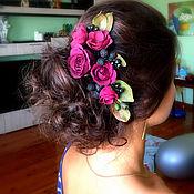 Свадебный салон ручной работы. Ярмарка Мастеров - ручная работа Гребень для волос. Handmade.