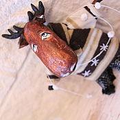 Куклы и игрушки ручной работы. Ярмарка Мастеров - ручная работа Лось. Handmade.