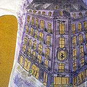 Одежда ручной работы. Ярмарка Мастеров - ручная работа Футболка Paris...Montaigne avenue... Dior...Париж. Handmade.