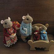 Куклы и игрушки ручной работы. Ярмарка Мастеров - ручная работа Семья Mouse. Handmade.