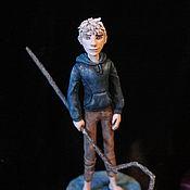 Куклы и игрушки ручной работы. Ярмарка Мастеров - ручная работа Фигурка Ледяной Джек. Handmade.
