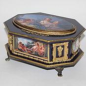 Для дома и интерьера handmade. Livemaster - original item Box blue Baroque Victorian. Handmade.