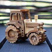 Техника, роботы, транспорт ручной работы. Ярмарка Мастеров - ручная работа Трактор. Handmade.