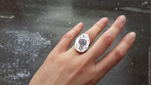 """Кольца ручной работы. Ярмарка Мастеров - ручная работа. Купить Кольцо """"Гранат"""". Handmade. Разноцветный, подарок, гранатовый"""
