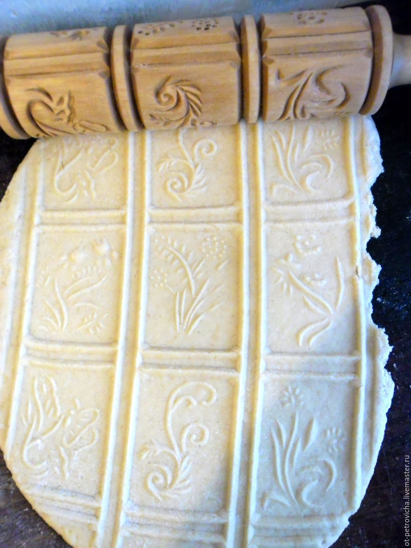 rolling pin: Gingerbread rolling pin. No. 0015, Rolling pins, Kamen-na-Obi,  Фото №1