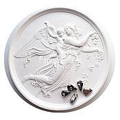 Материалы для творчества ручной работы. Ярмарка Мастеров - ручная работа Кристаллы Капли в цапах 8х13 мм серые. Handmade.
