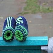 """Обувь ручной работы. Ярмарка Мастеров - ручная работа Валенки детские """"Спортивные"""". Handmade."""