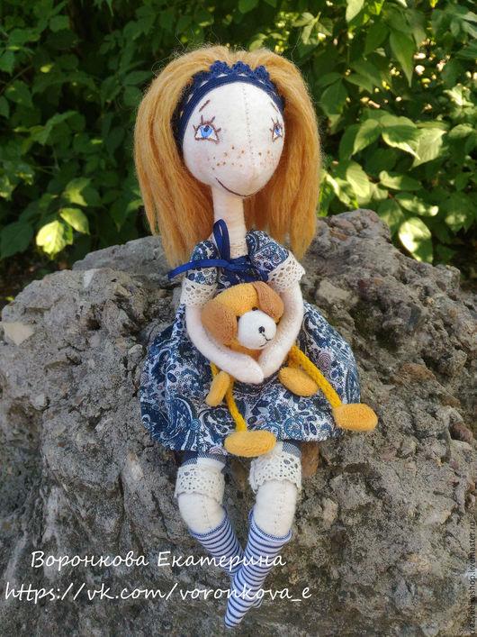 Куклы Тильды ручной работы. Ярмарка Мастеров - ручная работа. Купить Рыжая девочка. Handmade. Тильда кукла, рыжая девочка