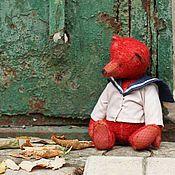 """Куклы и игрушки ручной работы. Ярмарка Мастеров - ручная работа Авторский коллекционный мишка """"Игнат"""" 28см. Handmade."""