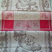 Для дома и интерьера handmade. Livemaster - original item A set of linen towels