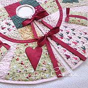Подарки к праздникам ручной работы. Ярмарка Мастеров - ручная работа Юбка для ёлки. Handmade.