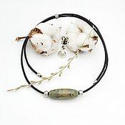 Фен-шуй и эзотерика handmade. Livemaster - original item JI 9 eyes on a leather cord (unisex). Handmade.