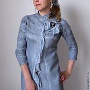 Одежда ручной работы. Ярмарка Мастеров - ручная работа Летнее пальто, нуновойлок. Handmade.