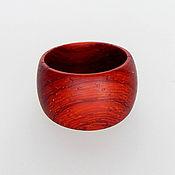 Украшения handmade. Livemaster - original item A ring of wood ( custom made ). Handmade.