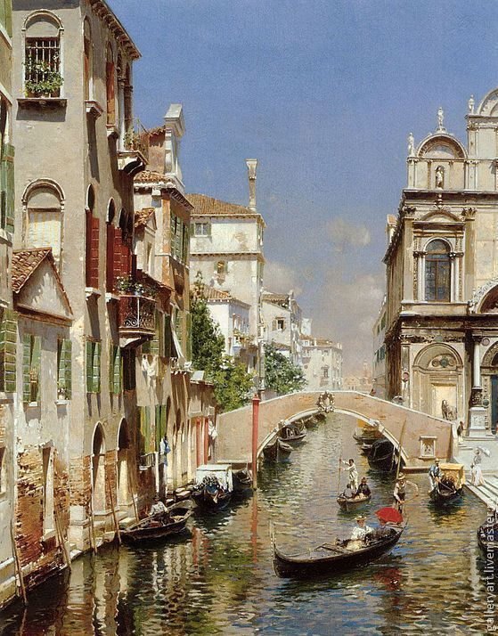 the painting 'Venice', Pictures, St. Petersburg,  Фото №1