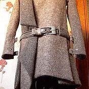 """Одежда ручной работы. Ярмарка Мастеров - ручная работа Пальто-шинель в стиле милитари """"Шинель из лодена"""". Handmade."""