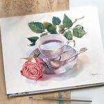 Акварельные картины Olga Oboznikh - Ярмарка Мастеров - ручная работа, handmade