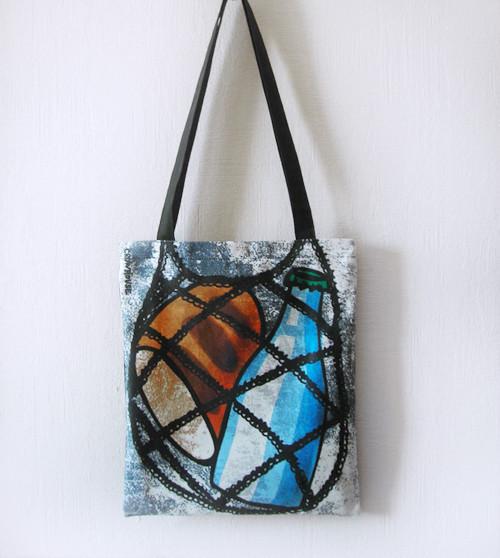 Bags & Accessories handmade. Livemaster - handmade. Buy Bag 'a Bottle of kefir, a half-loaf'.Bag