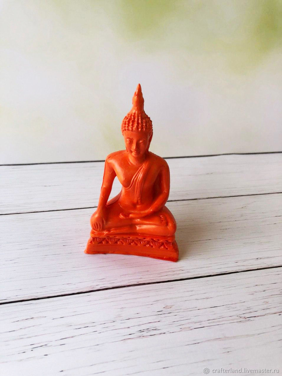 Silicone mold for soap / chocolate ' Buddha 2', Form, Istra,  Фото №1