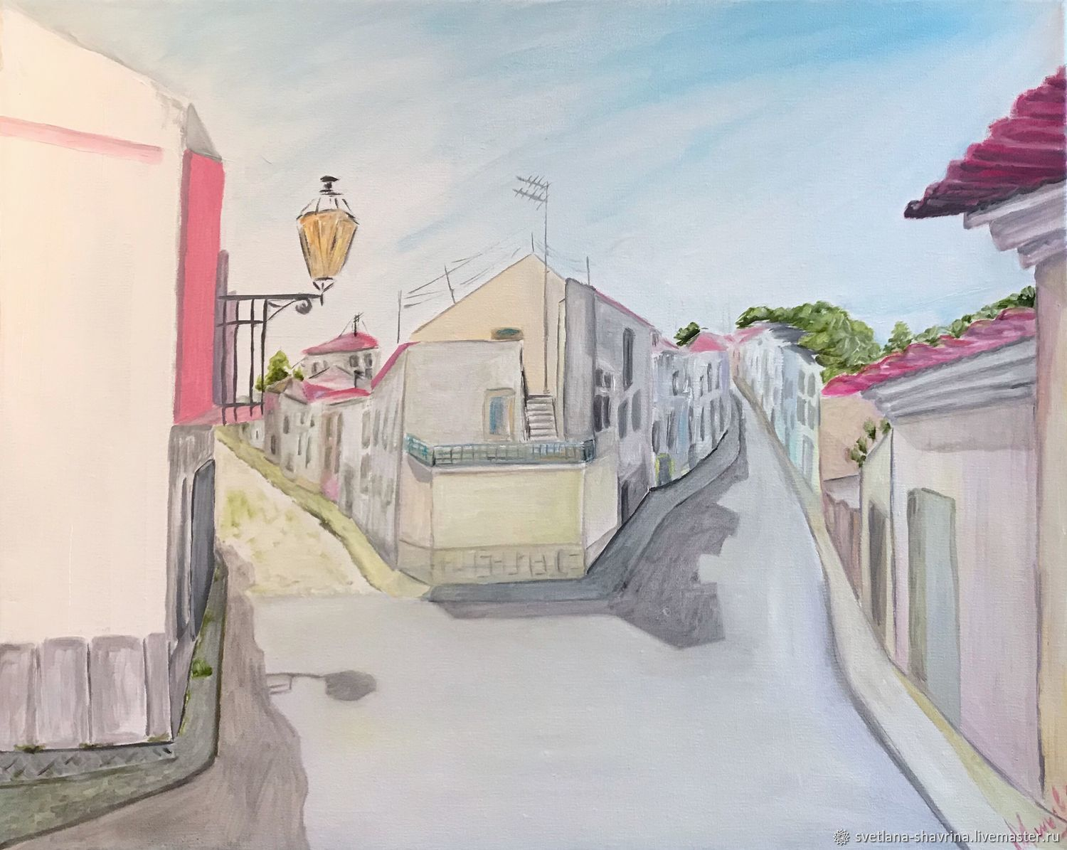 Oil painting: LAGOS, PORTUGAL-m/x, 50h40, impressionism, Pictures, Moscow,  Фото №1