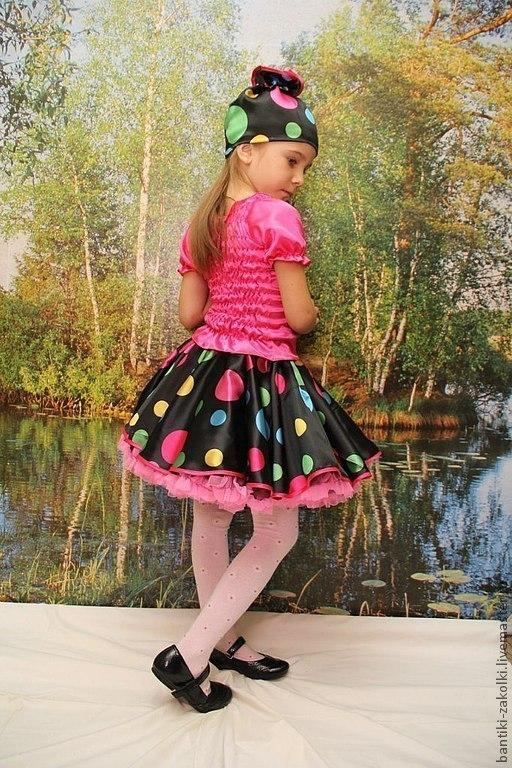 Детские карнавальные костюмы ручной работы. Ярмарка Мастеров - ручная работа. Купить карнавальный костюм конфетки на 116-125. Handmade.