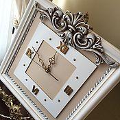 Для дома и интерьера ручной работы. Ярмарка Мастеров - ручная работа Часы настенные Вдохновение (по мотивам). Handmade.