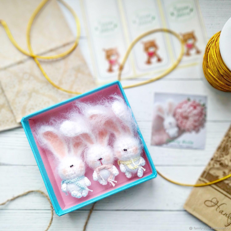 Зайчики, Миниатюрные игрушки, Тюмень, Фото №1