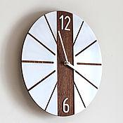 Для дома и интерьера handmade. Livemaster - original item Handmade wall clock in Scandinavian style. Handmade.