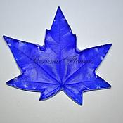 Материалы для творчества handmade. Livemaster - original item Leaf texture maple. Handmade.