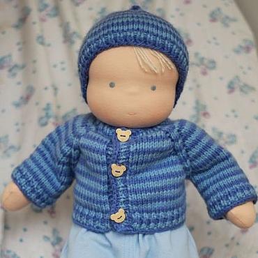Куклы и игрушки ручной работы. Ярмарка Мастеров - ручная работа Вальдорфский пупс 48 см. Handmade.