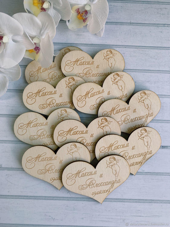 Подарочные Магниты с ангелком, Подарки на свадьбу, Москва, Фото №1