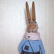 """Мягкие игрушки ручной работы. Ярмарка Мастеров - ручная работа Интерьерная игрушка """"Кролик Фелиция"""". Handmade."""