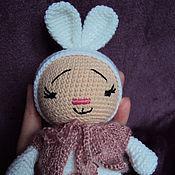 Куклы и игрушки ручной работы. Ярмарка Мастеров - ручная работа Зайка обнимашка. Handmade.