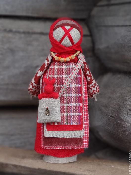 Народные куклы ручной работы. Ярмарка Мастеров - ручная работа. Купить Народная кукла с заюшкой.... Handmade. Пасха, пасхальные сувениры