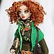 Art doll Ellie. Dolls. SarychevaDolls. My Livemaster. Фото №4