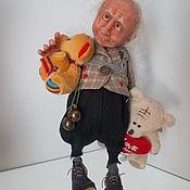 Куклы и игрушки ручной работы. Ярмарка Мастеров - ручная работа Эльф-коротышка(купидон). Handmade.