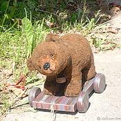 Куклы и игрушки handmade. Livemaster - original item Bear on wheels Baby. Handmade.