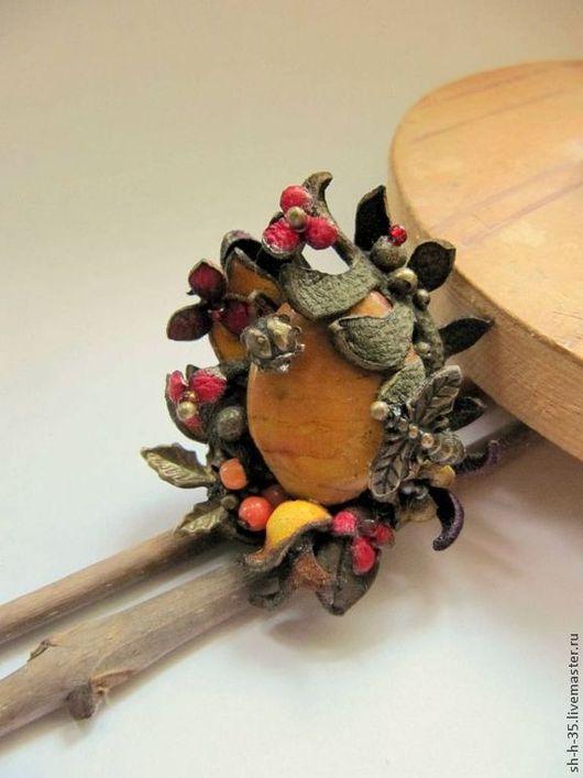"""Кольца ручной работы. Ярмарка Мастеров - ручная работа. Купить Кольцо """"Куда уходит осень"""". Handmade. Кольцо из кожи"""