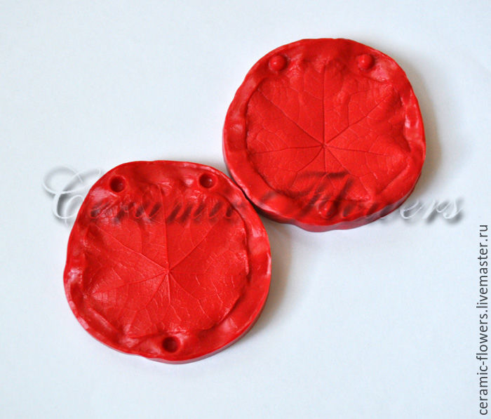 Silicone mold (Weiner) leaf, nasturtium,bilateral, Molds for making flowers, Rostov-on-Don,  Фото №1