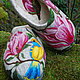 Обувь ручной работы. Тапочки «Магнолия». Угринович Ирина. Интернет-магазин Ярмарка Мастеров. Валяные тапочки, шерсть 100%