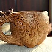 """Кружки ручной работы. Ярмарка Мастеров - ручная работа Кружка """"Волшебное яблоко"""". Handmade."""