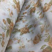Для дома и интерьера handmade. Livemaster - original item Tulle (ready) veil with flowers. Handmade.