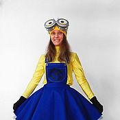 Одежда handmade. Livemaster - original item Minion-girl. Scenic suit/Cosplay/Carnival costume. Handmade.