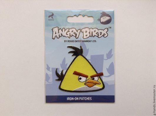 """Аппликации, вставки, отделка ручной работы. Ярмарка Мастеров - ручная работа. Купить Термоаппликация """"Angry Birds"""". Handmade. Термоаппликация"""