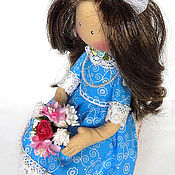 Куклы и игрушки ручной работы. Ярмарка Мастеров - ручная работа Текстильная интерьерная  кукла BETTY. Handmade.