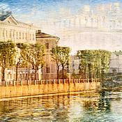 Картины и панно handmade. Livemaster - original item The photo of the urban landscape of Saint-Petersburg