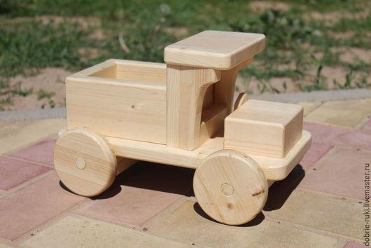 Вальдорфская игрушка ручной работы. Ярмарка Мастеров - ручная работа. Купить Машинка - грузовик. Handmade. Бежевый, игрушки из дерева, для детей